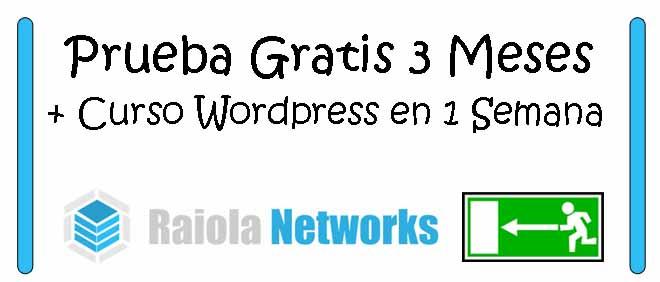 Hosting Raiola Networks 3 Meses Gratis